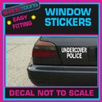 UNDERCOVER POLICE COP CAR WINDOW VINYL STICKER DECAL GRAPHICS WALL SIGN